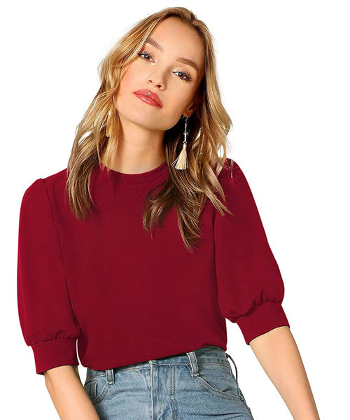 Picture of Half sleeve  Round neck  top